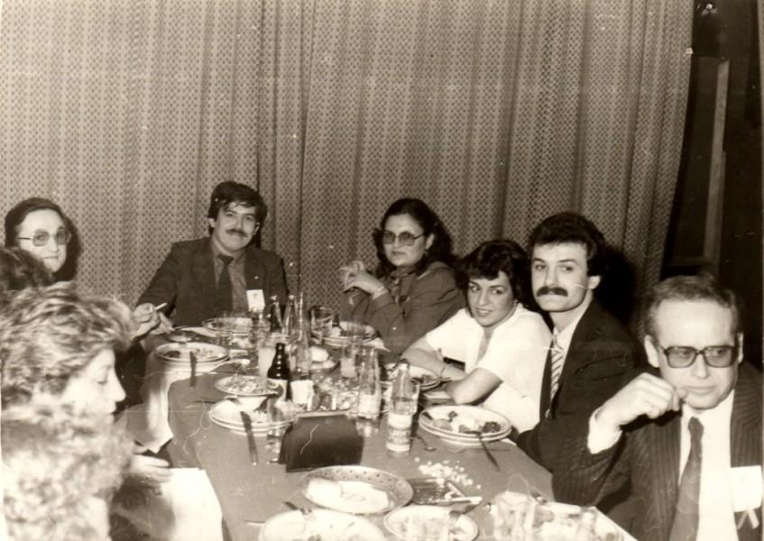 Dt. Bülent Uğurel, Dt. Recep Aydoğdu, Dt. Tayfun İrfan, Dt. Ünal Güngör - Çelik Palas (1982)