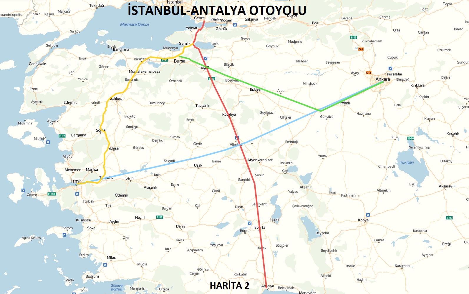 İstanbul-Antalya Otoyolu